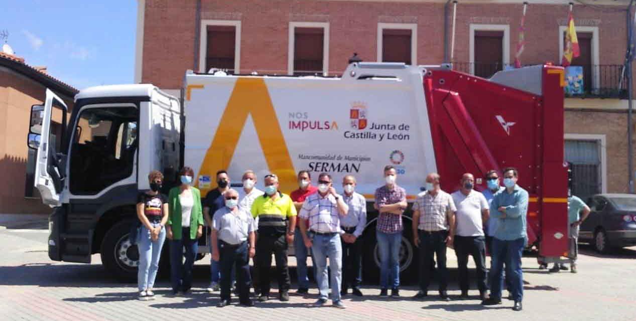 Nuevo camión de residuos para la Mancomunidad Serman