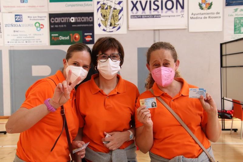 La vacunación contra la covid-19 no descansa en San Juan