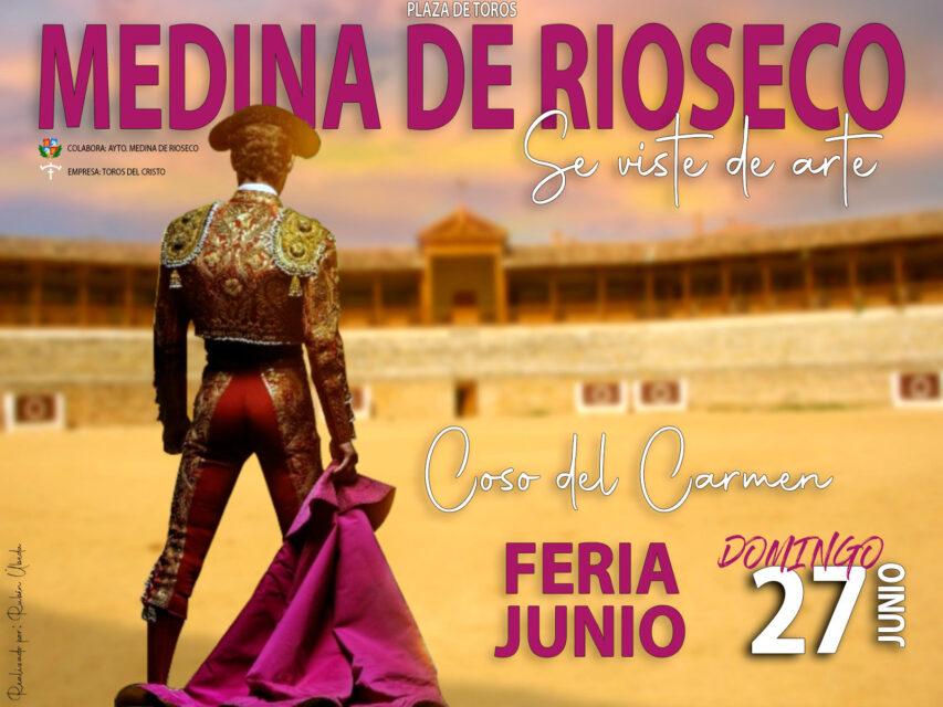 Medina de Rioseco volverá a tener una tarde de toros en la programación extraordinaria de fiestas en honor a San Juan
