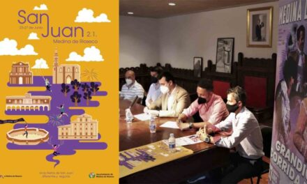 Medina de Rioseco presenta SU CARTEL Y programa San Juan 2021