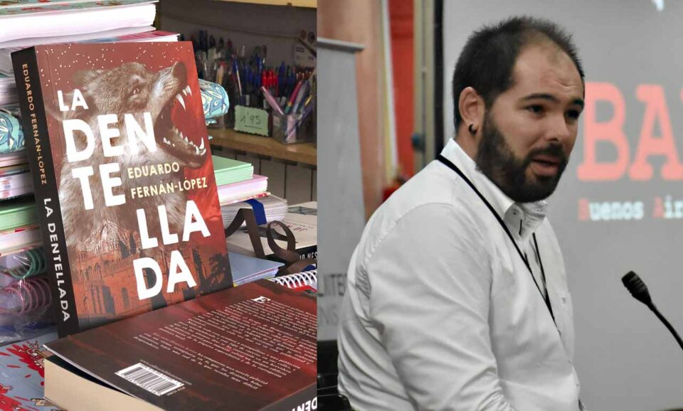 El escritor villalpandino Eduardo Fernán López publica 'La Dentellada'