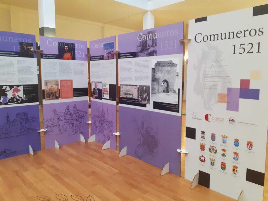 Rioseco inaugura mañana martes la exposición 'Comuneros 1521. Con celo de nuestro servicio'
