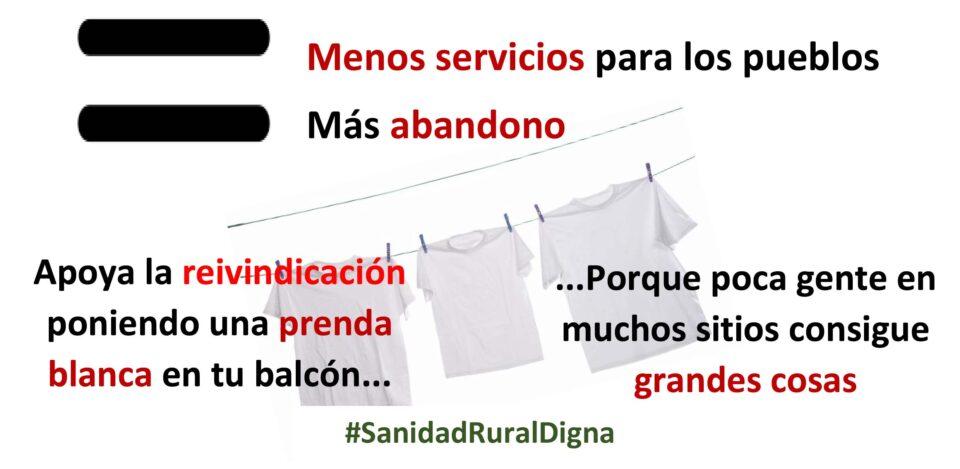 Organizaciones de la España Vaciada advierten que el desmantelamiento del sistema sanitario en el mundo rural impide que las cuentas sanitarias salgan en Castilla y León