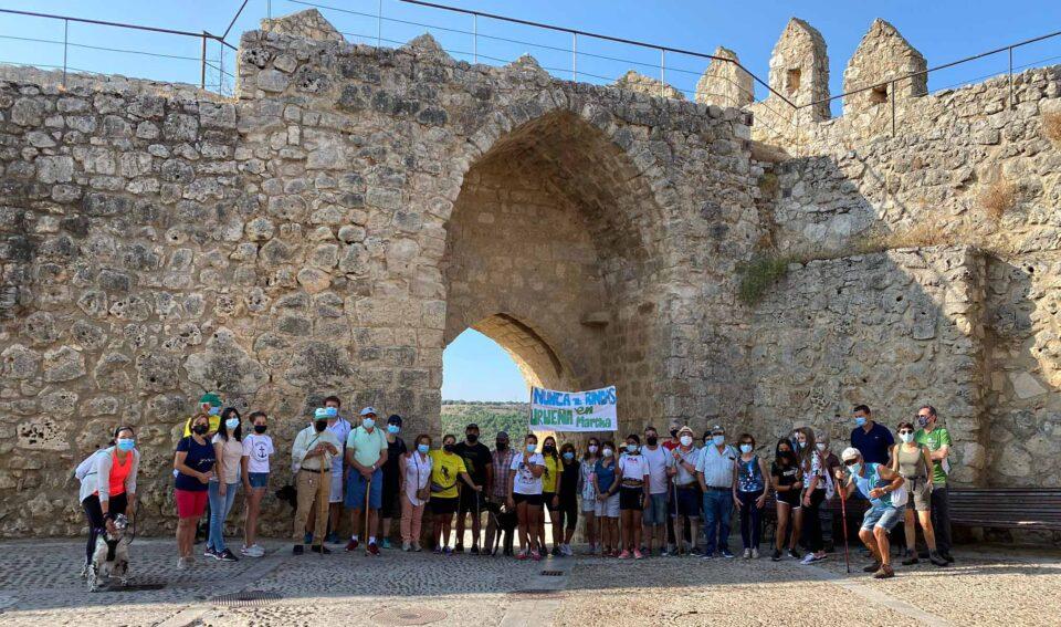 La Marcha contra el Cáncer de Urueña recauda 860 euros