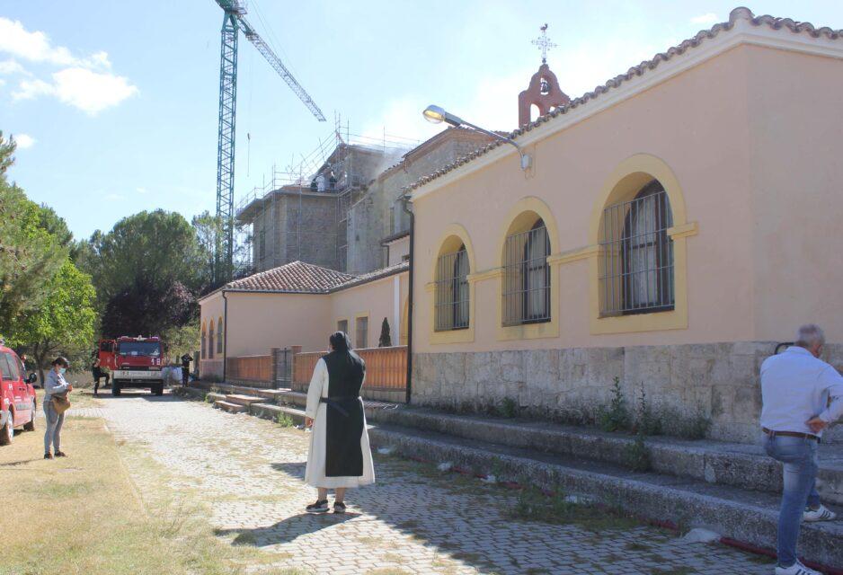 Sin daños patrimoniales en el Monasterio de Alconada en Ampudia