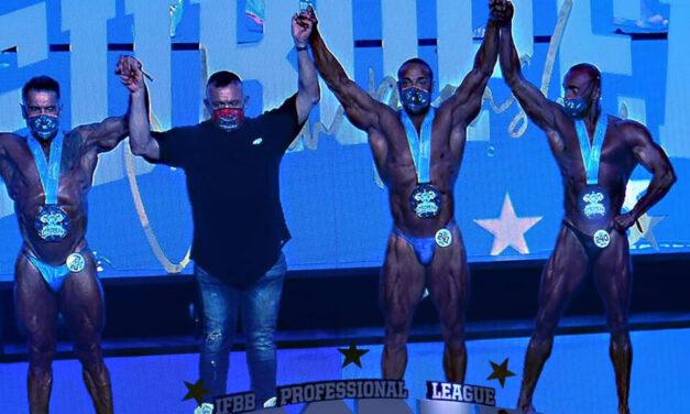El riosecano Manuel Jiménez, campeón de Europa IFBB Pro