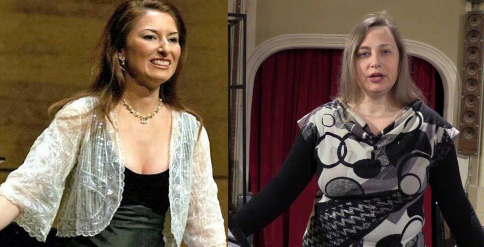 Montserrat Martí Caballé y Simona Todaro Pavarotti, este sábado en la Gala Lírica de Ampudia