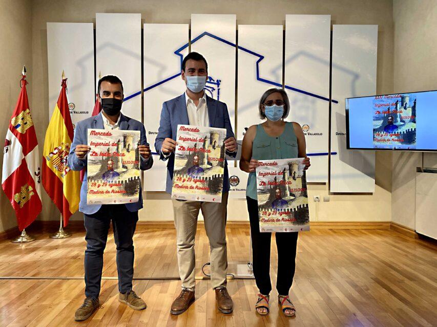 La Diputación presenta la XXIV edición del 'Mercado Imperial de la India Chica' de Medina de Rioseco