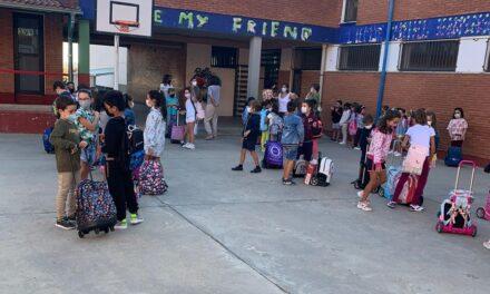 Vuelta al cole tranquila en los colegios territorio