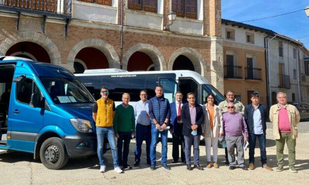 La Junta implanta el bono rural de transporte gratuito para San Cebrián, San Pedro, Urueña, Villardefardes y Villavellid