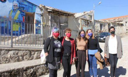 Irene Montero reivindica en San Pelayo el papel de la mujer rural