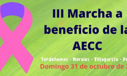 Tordehumos, Morales, Villagarcía y Pozuelo vuelven a unirse en la lucha contra el cáncer